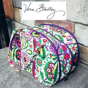 Vera Bradley Small Multi Pocket Travel Tote Bag